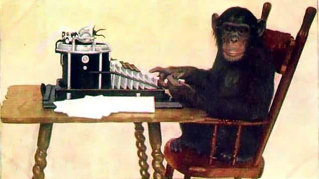 La fábula de los chimpancés y la máquina de escribir