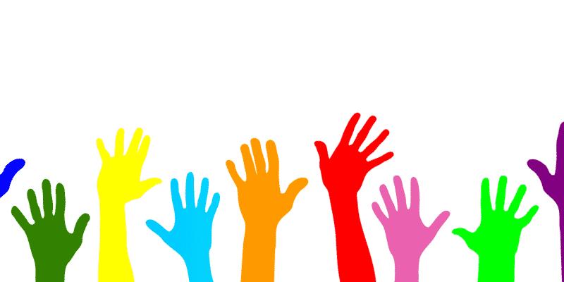 volunteer, hands, help